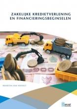 Maarten van Hasselt , Zakelijke kredietverlening en financieringsbeginselen