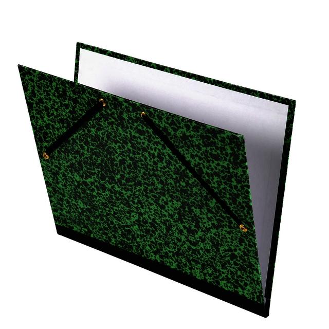 ,Tekenmap Canson Studio 37x52cm 2-elastiek groen