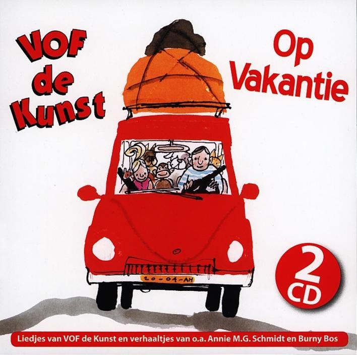 ,VOF De Kunst*Op Vakantie 2 CD