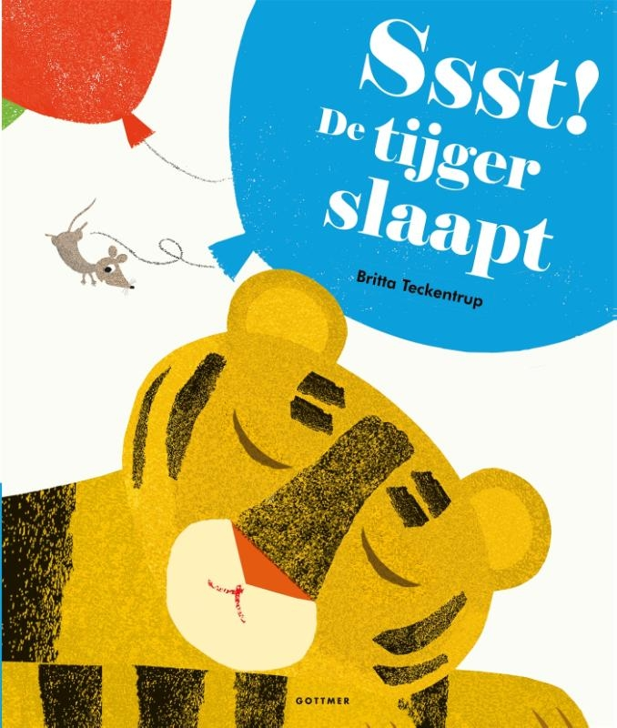 Britta Teckentrup,Ssst! De tijger slaapt