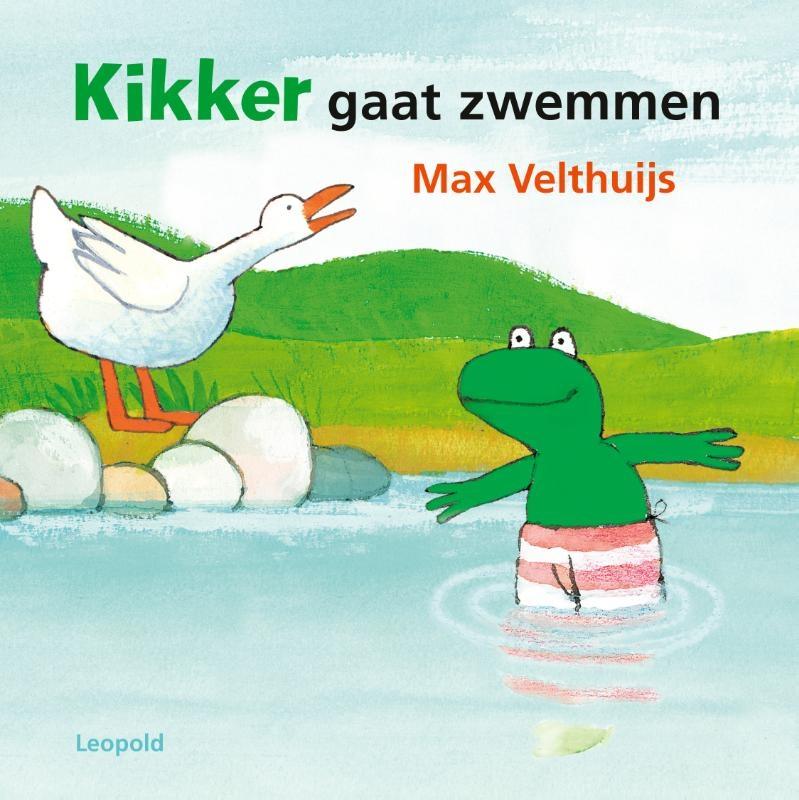Max Velthuijs,Kikker gaat zwemmen