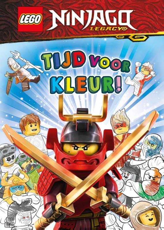 ,LEGO NINJAGO - Tijd voor kleur!