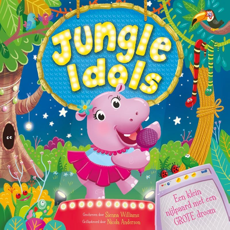 Sienna Williams, Linda Beukers,Jungle Idols - prentenboek padded