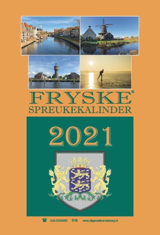 Hendrik van den Heuvel,Fryske spreukekalinder 2021