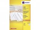 ,kopieeretiket Avery 70x26mm 100 vel 33 etiketten per vel wit