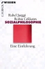 Jaeggi, Rahel,   Celikates, Robin,Sozialphilosophie