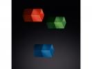 ,magneet voor glasbord mix packstandaard: blauw, rood, groen                               3 stuks 1