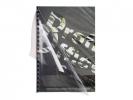 ,schutbladen ProfiOffice A4 gestreept 400 micron 50 stuks    transparant smoke