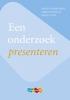 Angela  Markenhof, Mirjam  Bastings, Heinze  Oost,Een onderzoek presenteren