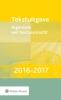 ,Tekstuitgave Algemene wet bestuursrecht 2016-2017