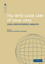 The WTO Case Law of 2004-2005