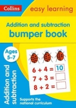 Collins Easy Learning Addition and Subtraction Bumper Book Ages 5-7