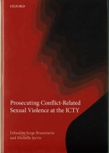 Brammertz, Serge Prosecuting Conflict-Related Sexual Violence at the ICTY