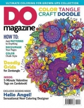 Editors of DO Magazine Color Tangle Craft Doodle #3