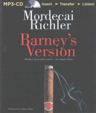 Richler, Mordecai Barney`s Version