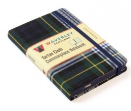 Waverley Scotland Dress Gordon: Waverley Genuine Tartan Cloth Commonplace Note