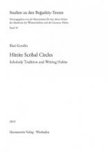 Gordin, Shai Hittite Scribal Circles