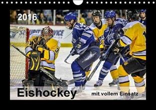 Roder, Peter Mit vollem Einsatz - Eishockey (Wandkalender 2016 DIN A4 quer)