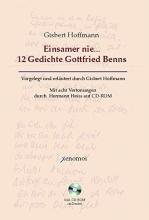Hoffmann, Gisbert Einsamer nie... 12 Gedichte Gottfried Benns