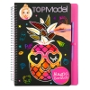 ,<b>Topmodel magic- scratch book</b>