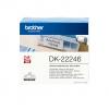 , Etiket Brother DK-22246 103mm 30-meter wit papier