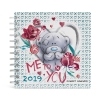 ,<b>Familieagenda 2019 16.5x16.5 cm me to you</b>