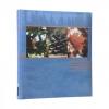 ,<b>Henzo fotoalbum slip in earth 300 foto`s blauw</b>