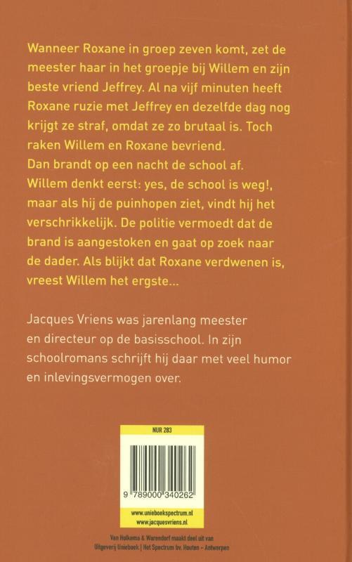 Jacques Vriens,De school is weg!