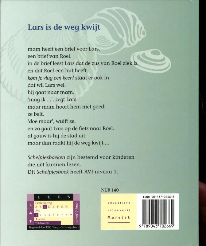 Henk Hokke,Lars is de weg kwijt