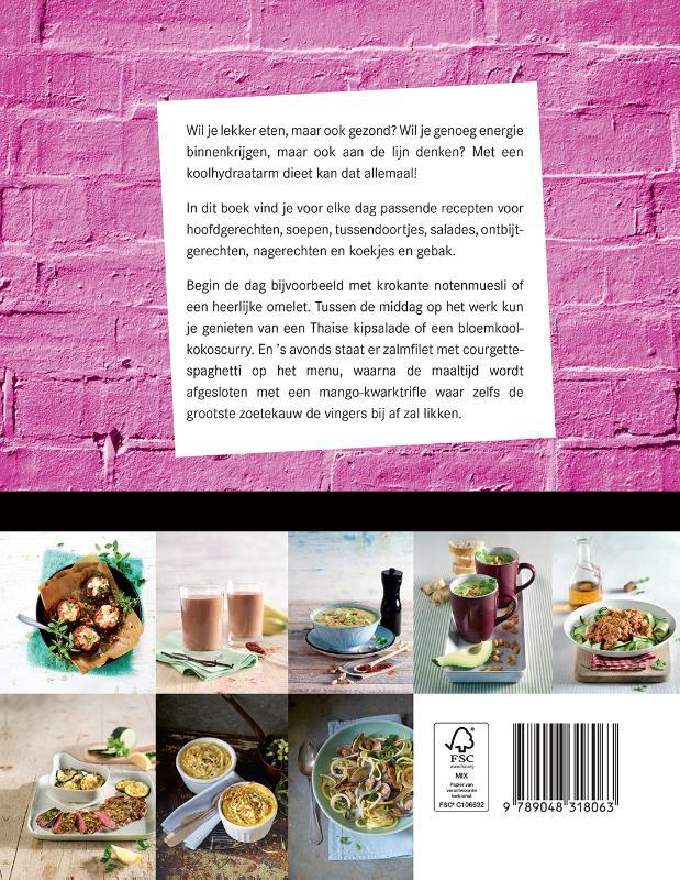 ,Het grote koolhydraatarme kookboek