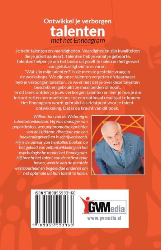 Willem Jan van de Wetering,Ontwikkel je verborgen talenten met het enneagram