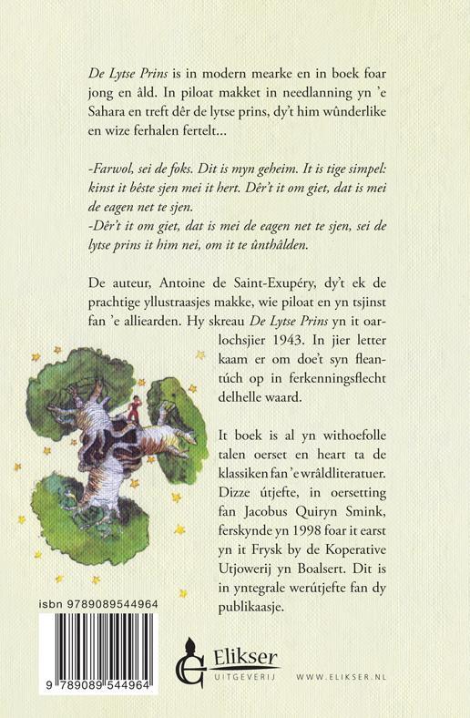 Antoine de Saint-Exupery,De lytse prins