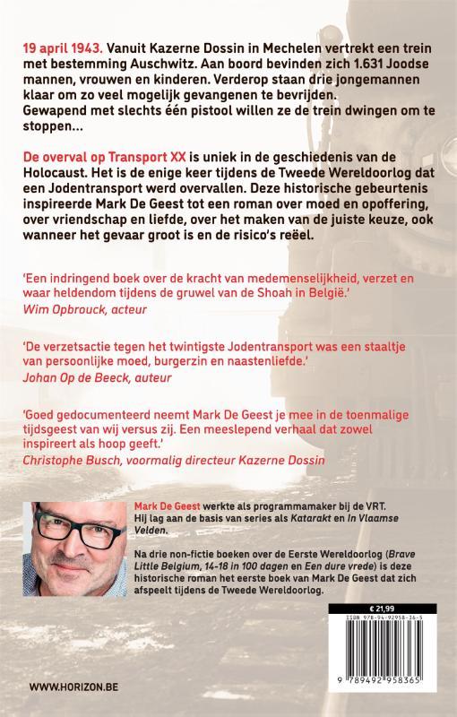 Mark De Geest,Transport XX. Bestemming Auschwitz