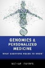 Michael Snyder Genomics and Personalized Medicine