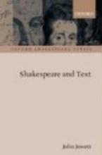 Jowett, John Shakespeare and Text