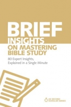 Michael S. Heiser Brief Insights on Mastering Bible Study