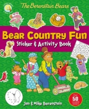 Berenstain, Jan,   Berenstain, Mike The Berenstain Bears Bear Country Fun Sticker and Activity Book
