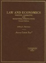 Harrison, Jeffrey L. Law and Economics