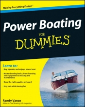 Vance, Randy Power Boating For Dummies