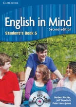 Puchta, Herbert,   Stranks, Jeff,   Lewis-Jones, Peter English in Mind Level 5 Student`s Book with DVD-ROM