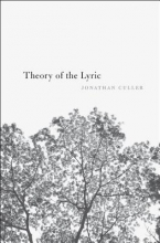 Culler, Jonathan Theory of the Lyric