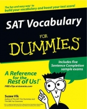 Vlk, Suzee SAT Vocabulary for Dummies