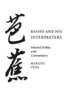 Ueda, Makoto Basho and His Interpreters