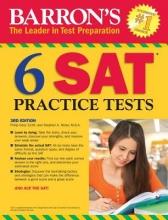 Geer, Philip,   Reiss, Stephen A. Barron`s 6 SAT Practice Tests