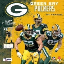 Green Bay Packers 2017 Calendar