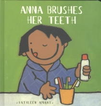 Amant, Kathleen Anna brushes her teeth