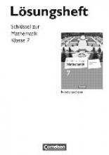 Berkemeier, Helga Schlüssel zur Mathematik 7. Schuljahr. Lösungen zum Schülerbuch. Differenzierende Ausgabe Niedersachsen