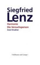 Lenz, Siegfried Die Versuchsperson. Harmonie