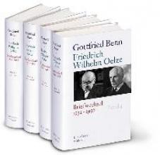 Benn, Gottfried Gottfried Benn - Friedrich Wilhelm Oelze