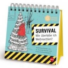 Survival Adventsaufsteller Geschenkbuch